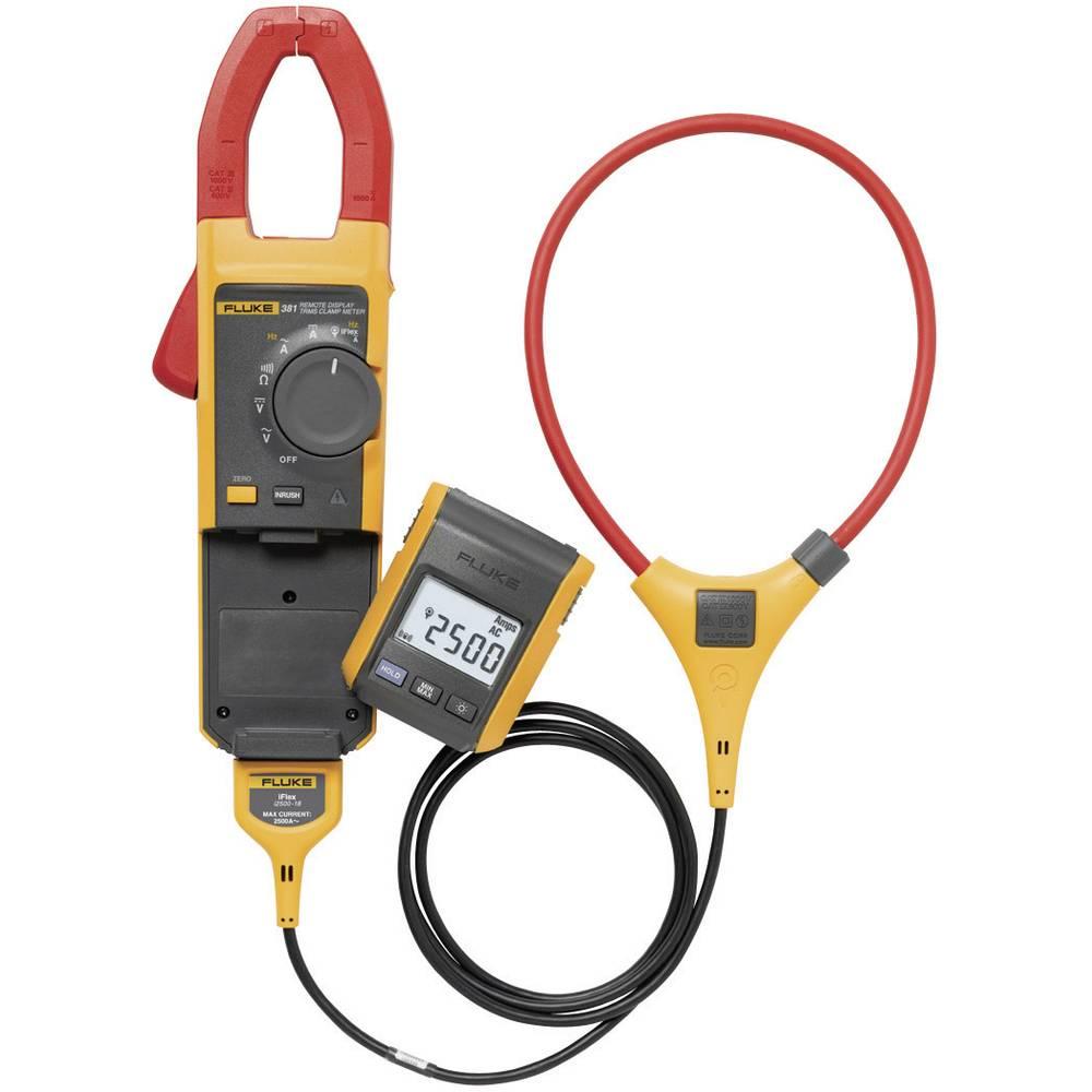 Tokovne klešče, ročni multimeter, digitalni Fluke 381 kalibracija narejena po: delovnih standardih, CAT III 1000 V, CAT IV 600 V