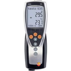 Merilnik vlažnosti zraka (higrometer) testo 635-1 0 % rF 100 % rF kalibracija narejena po: delovnih standardih