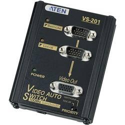 2-vratni VGA preklopnik ATEN črne barve