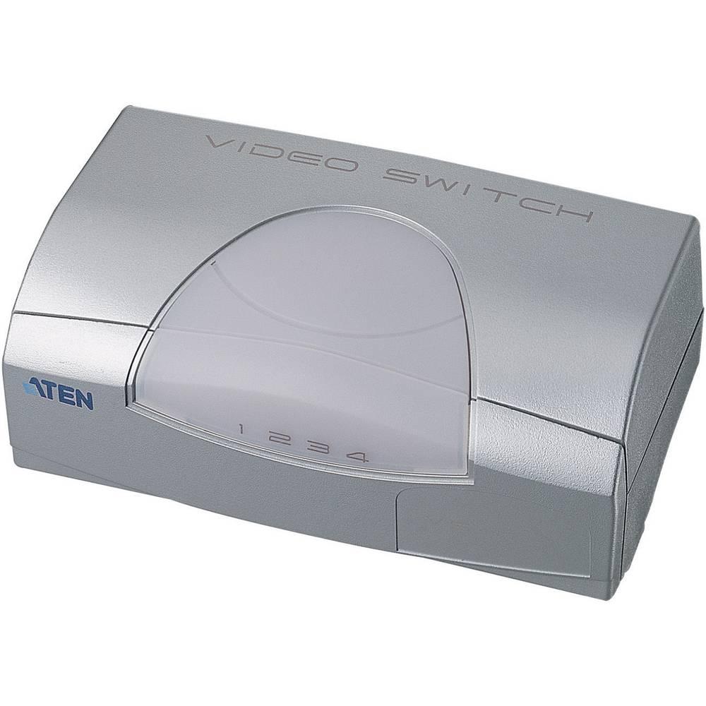 4-vratni VGA preklopnik ATEN srebrne barve
