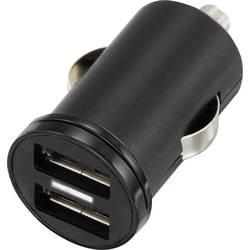Personbil USB-laddare VOLTCRAFT CPS-2400/2 2 xUSB 2400 mA Svart