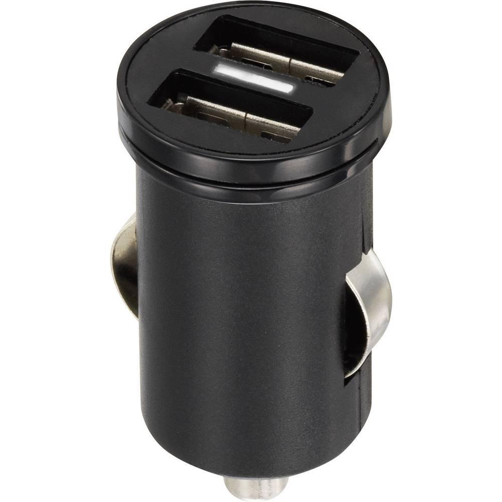 USB-oplader VOLTCRAFT CPS-2400/2 CPS-2400/2 Personbil Udgangsstrøm max. 2400 mA 2 x USB