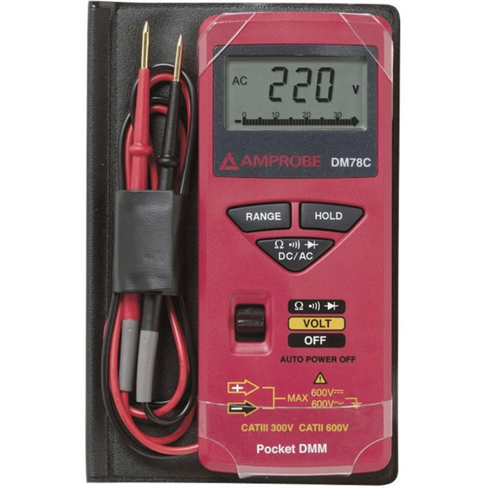 Ročni multimeter, digitalni Beha Amprobe DM78C kalibracija narejena po: delovnih standardih, CAT II 600 V, CAT III 300 V število