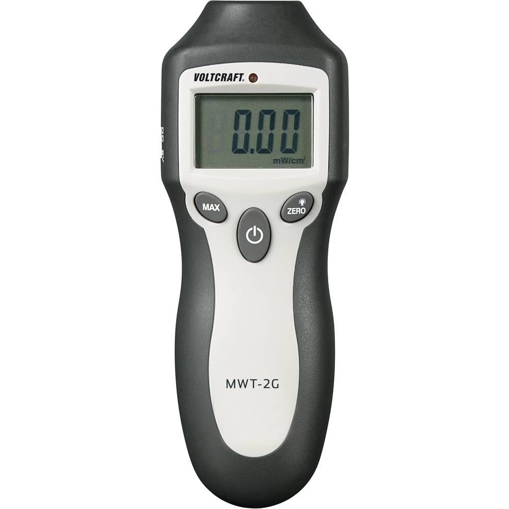 Högfrekvent (HF) - elektrosmogmätare VOLTCRAFT MWT-2G Kalibrerad enligt (ej certifierad kalibrering)