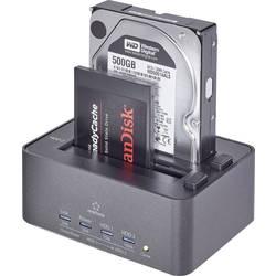 Renkforce USB 3.0 priključna Postaja SATA HDD z klonirno in brisalno funkcijo
