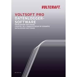 VOLTCRAFT VoltSoft PRO zapisovalnik podatkov-programska oprema, primeren za VC930, VC950, DL-141TH, SL-451, DL-101T, DL-111K, DL