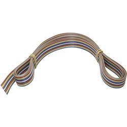 Velleman večbarvni, ploščati kabel 3m za K8200 FC16C-3/SP