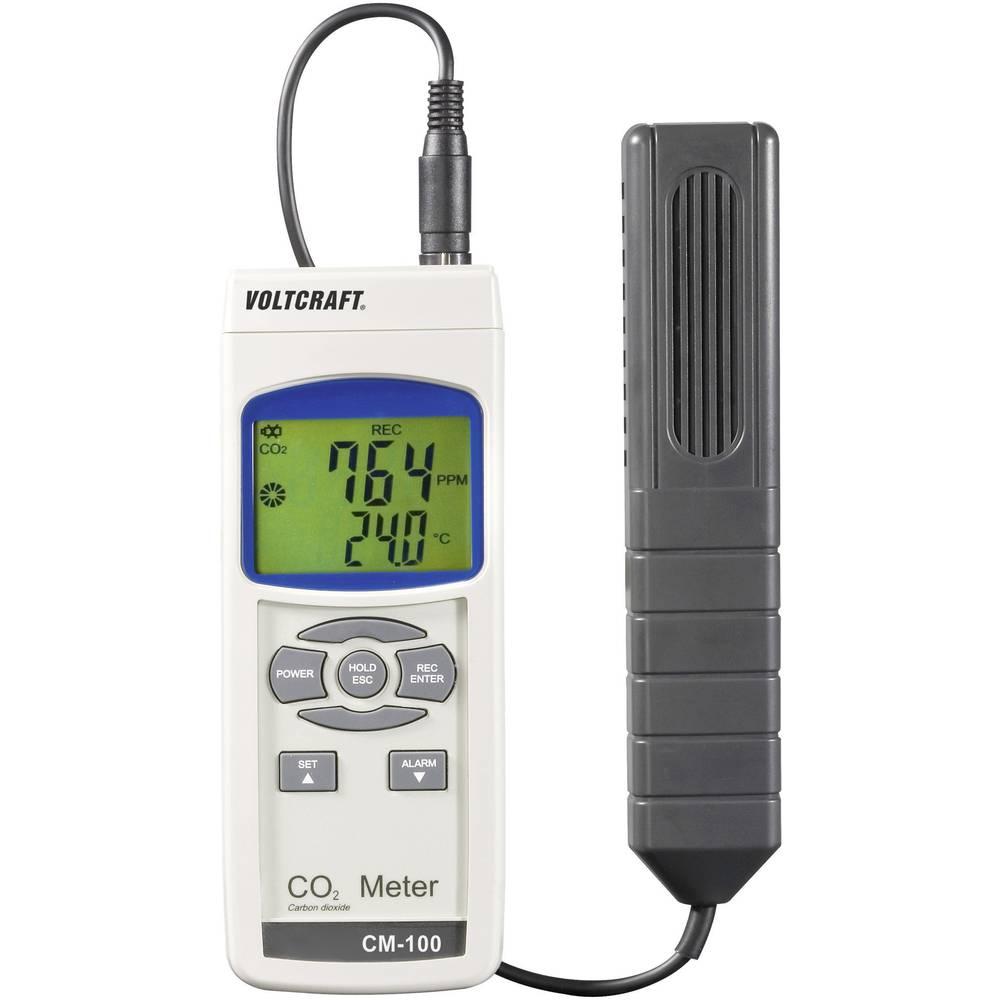 VOLTCRAFT CM-100 CO2 merilnik ogljikovega dioksida