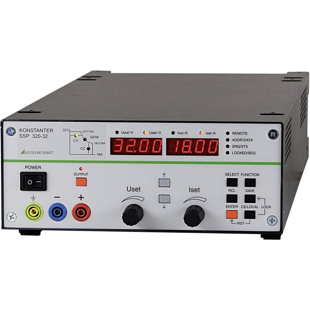 Laboratorijski napajalnik, nastavljiv Gossen Metrawatt SSP 320-32 0 - 32 V/DC 0 - 18 A 320 W RS-232 programabilni, št. izhodov
