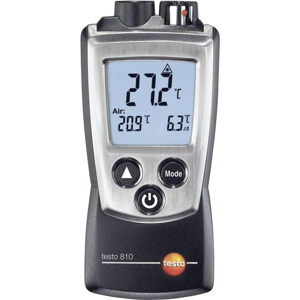 Infrardeči termometer testo 810 optika 6:1 -30 do +300 °C kontaktno merjenje, kalibracija narejena po: delovnih standardih