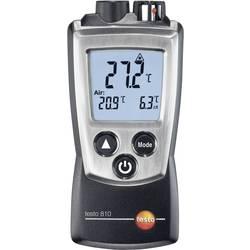 Infracrveni termometar testo 810 optika 6:1 -30 do +300 °C kontaktno mjerenje, kalibrirano prema DAkkS standardu