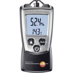 Merilnik vlažnosti zraka (higrometer) testo 610 0 % rF 100 % rF kalibracija narejena po: delovnih standardih