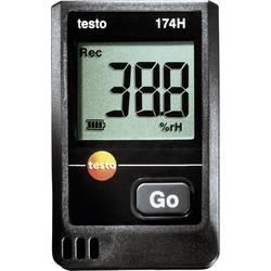 Večnamenski zapisovalnik podatkov testo 174H merjenje vlažnosti zraka, temperature -20 do +70 °C 0 do 100 % rF kalibracija narej