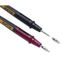 Varnostni-merilni kabelski komplet [ lamelni vtič 4 mm - testna konica] 1.20 m črne barve, rdeče barve Fluke TL175E