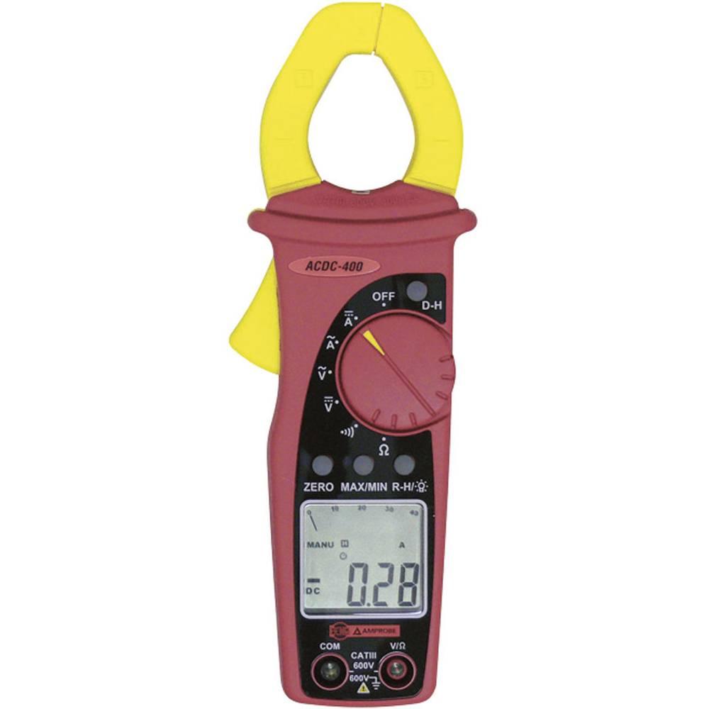 Tokovne klešče, ročni multimeter, digitalni Beha Amprobe ACDC-400-D kalibracija narejena po: delovnih standardih, CAT III 600 V