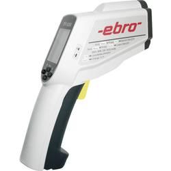 Infrardeči termometer ebro TFI 650 optika 50:1 -60 do +1500 °C kontaktno merjenje, kalibracija narejena po: delovnih standardih