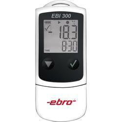 Shranjevalnik podatkov o temperaturi Ebro EBI 300, 40.000 vrednosti, -30 do +60 °C, 0,1 °C 1340-6330