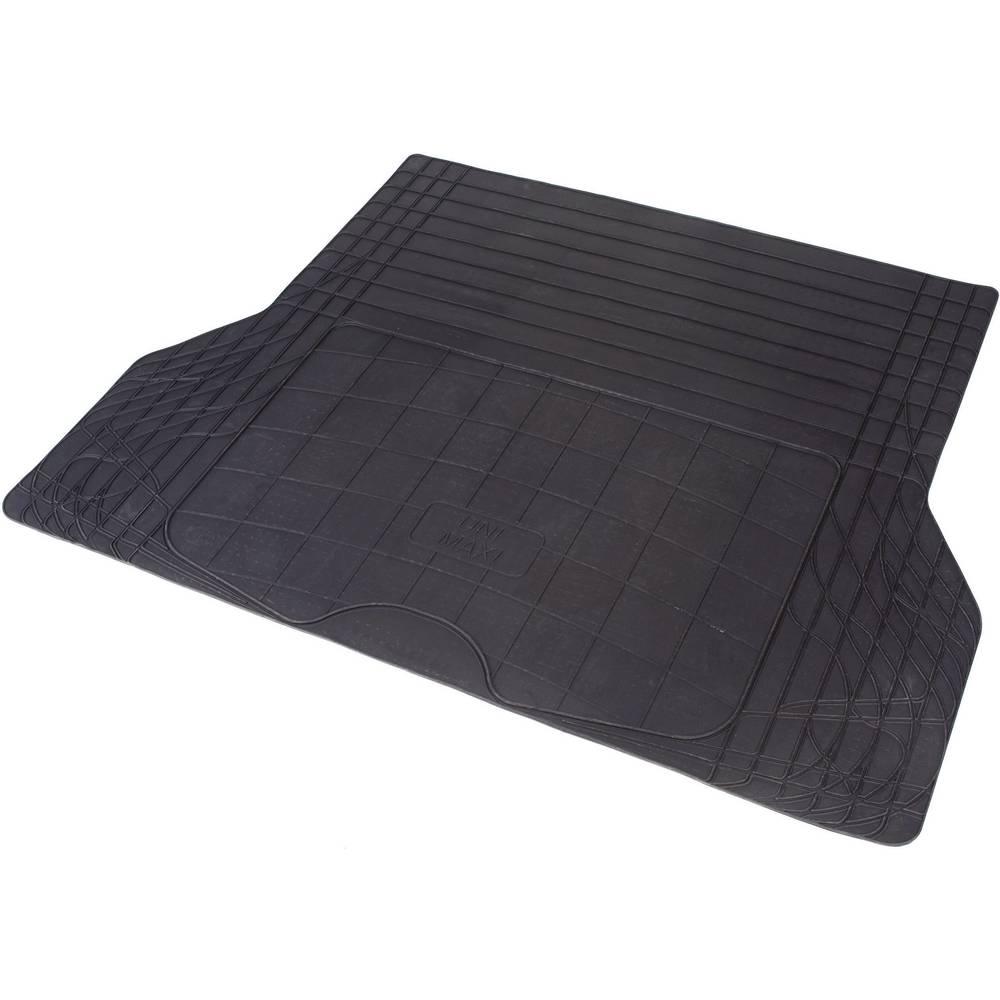 Univerzalni tepih za prtljažnik od prirodne gume (Ĺ x V) 1400 mm x 1080 mm, crne boje KOFFERRAUMMATTE 1400 x 1080 mm