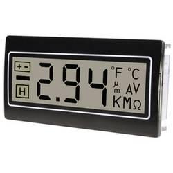Digitalni multimetar za spojnuploču TDE Instruments DPM961-R, +200 mV, 22, 2 x 45 mm