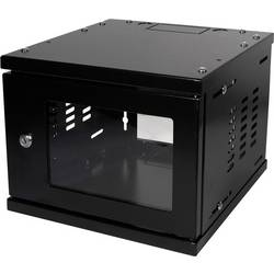 10 palčni Omrežna omarica LogiLink W06Z33B 4 HE črna