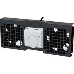 LogiLink FAW101B 19 palec 1 x ventilator za omrežne omare črna