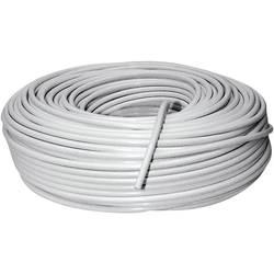 Schwaiger KOX964100002 Koaksialni kabel, 100 m bele barve
