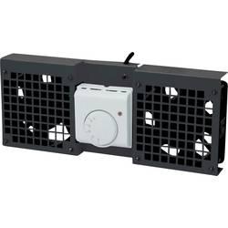 LogiLink FAW102B 19 palec 2 x ventilator za omrežne omare črna