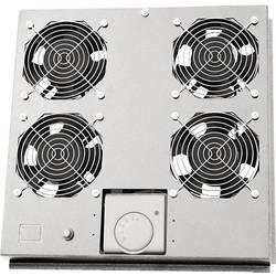 LogiLink FAS122G 19 palec 4 x ventilator za omrežne omare siva