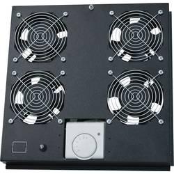 LogiLink FAS122B 19 palec 4 x ventilator za omrežne omare črna