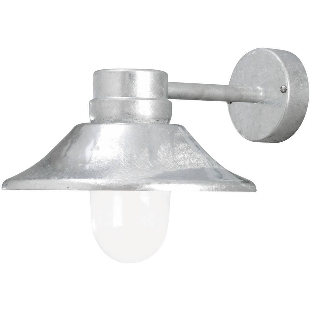 Zunanja stenska LED-svetilka Konstsmide, 5 W, topla bela svetloba, jeklo, 412-320