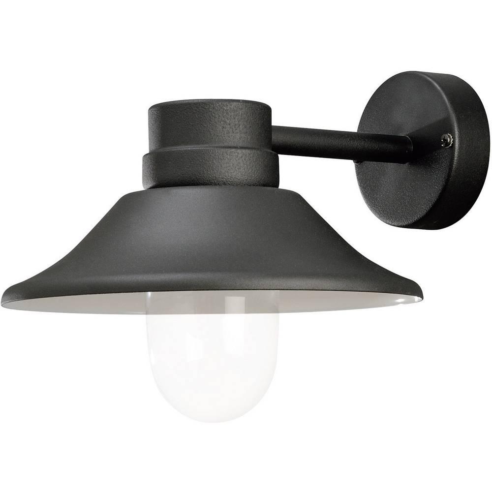 Zunanja stenska LED-svetilka Konstsmide, 5 W, topla bela svetloba, črna, 412-750