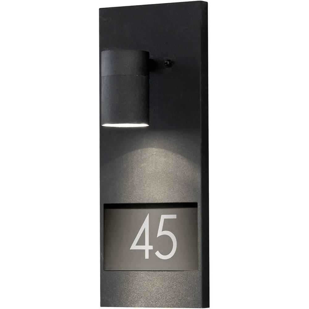 Konstsmide LED osvetljena hišna številka Modena 7655-750 GU10 črna