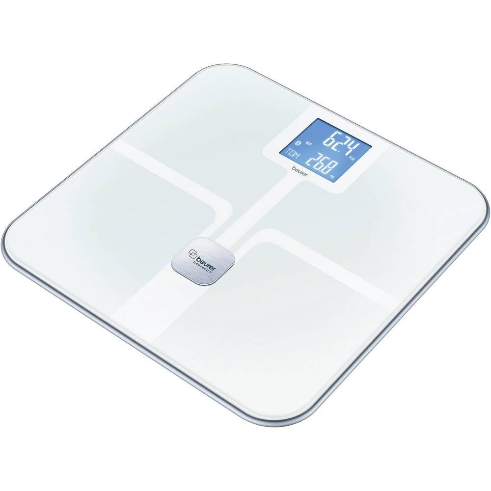 Vaga za tjelesnu analizu Beurer BF 800 područje mjerenja (maks.)=180 kg bijela