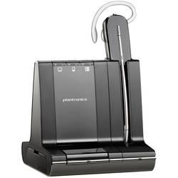 Plantronics Savi W740-M telefonski naglavni komplet dect brezžične, mono in ear črna, srebrna