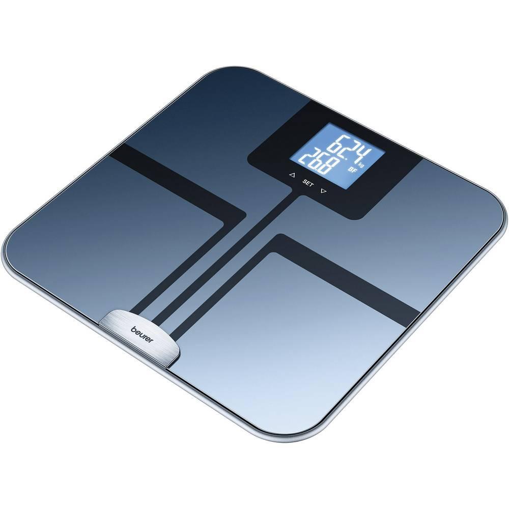 Vaga za tjelesnu analizu Beurer BF 750 područje mjerenja (maks.)=150 kg crna