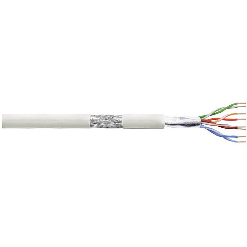 Patch kabel CAT 5e SF/UTP 4 x 2 x AWG 26/7 siva 100 m LogiLink CPV0017
