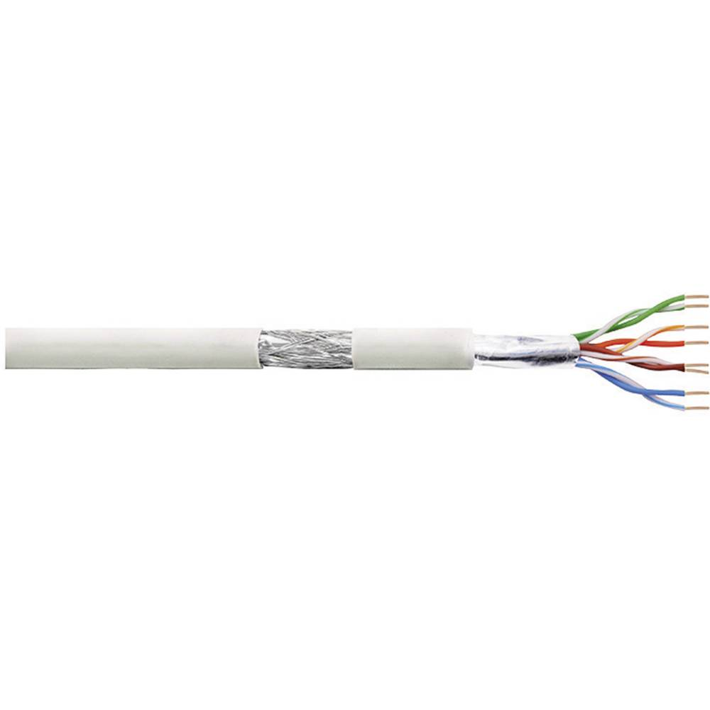 Patch kabel Cat 5e SF / UTP 4 x 2 x AWG 26/7 siva 305 m LogiLink CPV0018