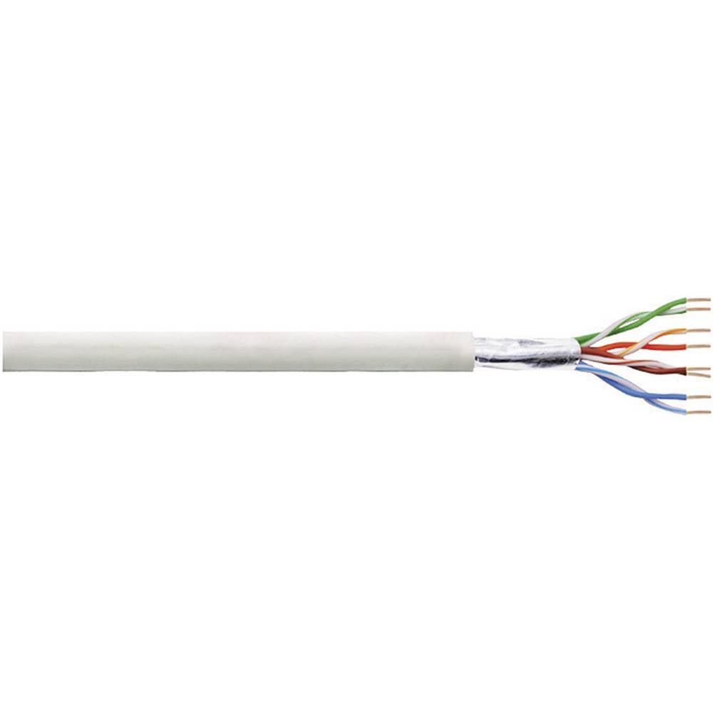 Namestitveni kabel CAT 5e F / UTP 4 x 2 x AWG 24/1 siv 50 m LogiLink CPV0029