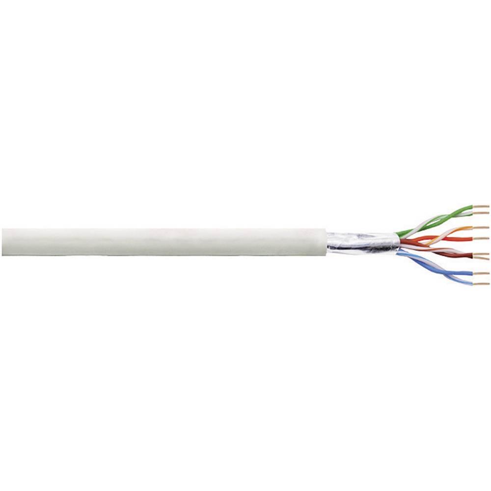CCA instalacijski kabel CAT 5e F/UTP LogiLink 4 x 2 x AWG 24/1 siva 100 m