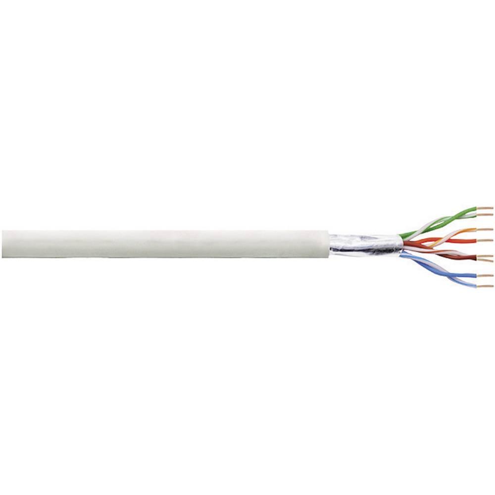 Omrežni kabel CAT 5e F/UTP 4 x 2 x 0.205 mm siva LogiLink CPV003 305 m