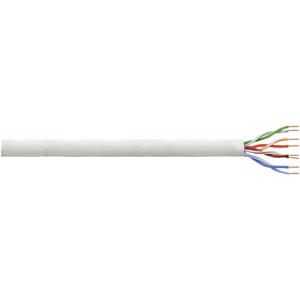 Namestitveni kabel CAT 5e U/UTP U/UTP 4 x 2 x AWG 24/1 siv 100 m LogiLink