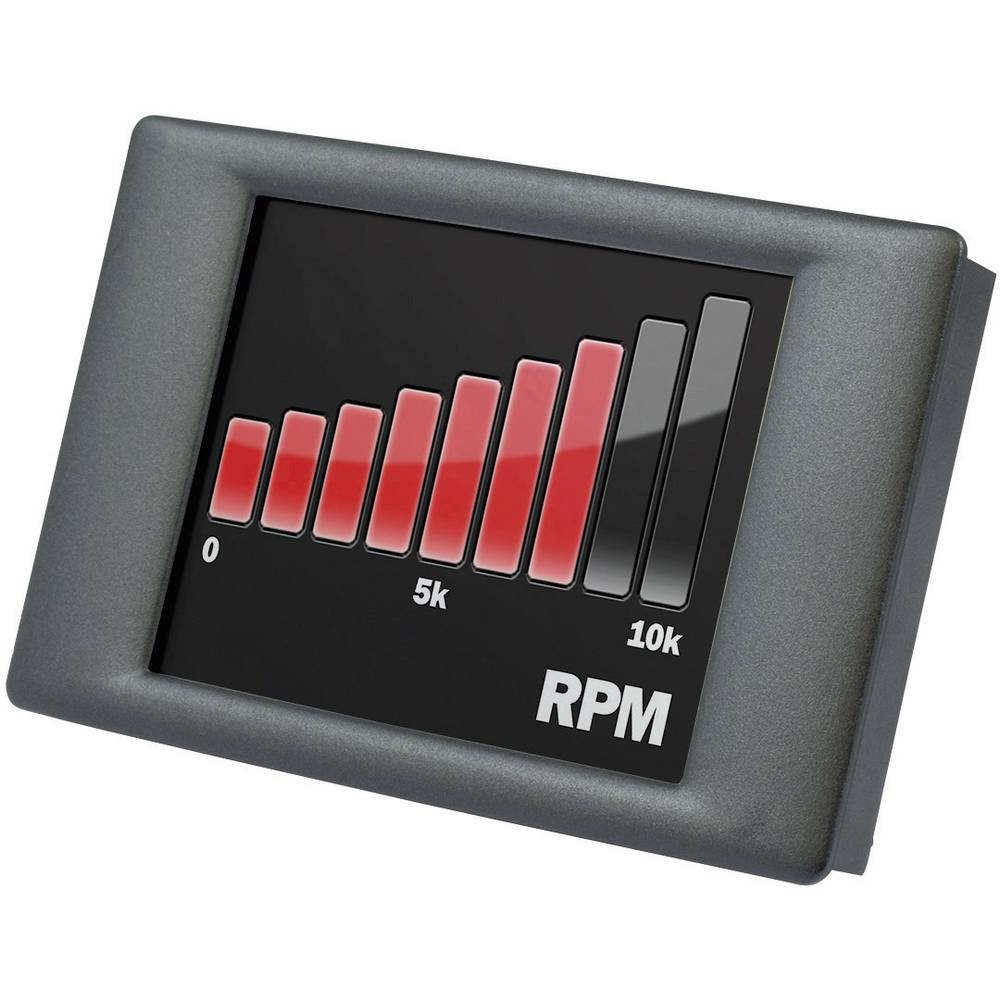 Ugradni mjerač + zaslon osjetljiv na dodir Lascar Electronics PanelPilot, 0-40 V/DC, 74 x SGD24-M