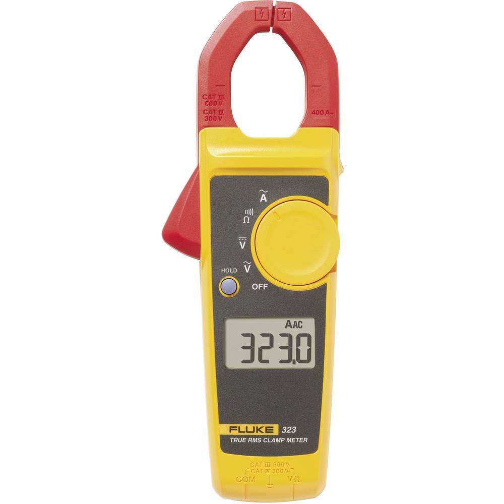 Tokovne klešče, ročni multimeter, digitalni Fluke 323 kalibracija narejena po: delovnih standardih, CAT III 600 V, CAT IV 300 V