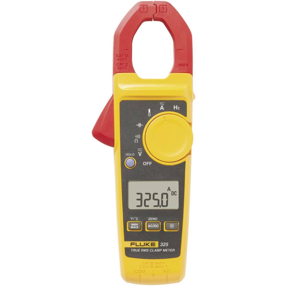 Tokovne klešče, ročni multimeter, digitalni Fluke 325 kalibracija narejena po: delovnih standardih, CAT III 600 V, CAT IV 300 V