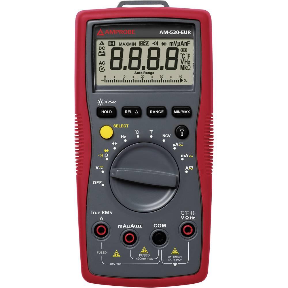 Ročni multimeter, digitalni Beha Amprobe AM-530-EUR kalibracija narejena po: delovnih standardih, CAT II 1000 V, CAT III 600 V š
