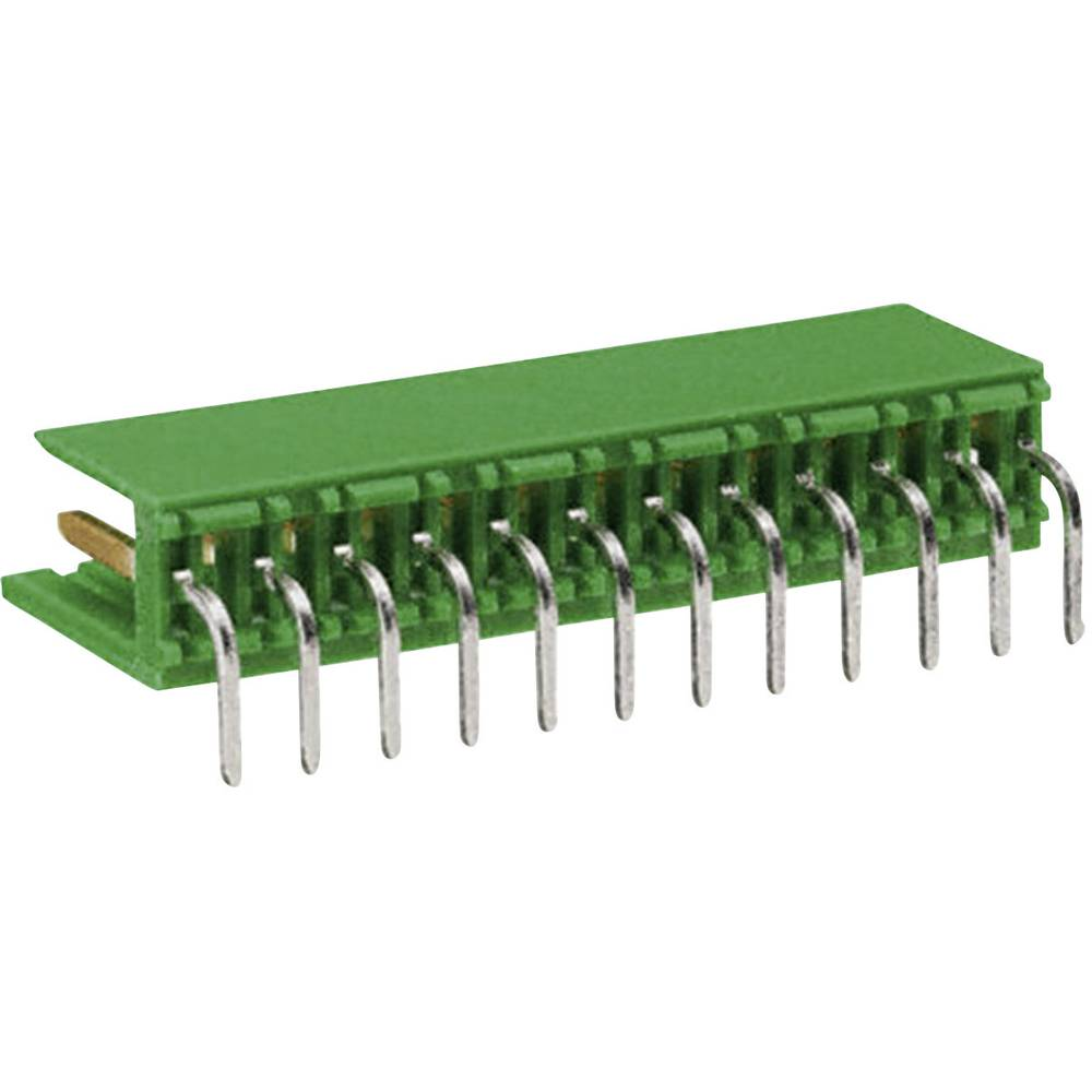 Stiftliste (standard) AMPMODU MOD I (value.1360572) Samlet antal poler 8 TE Connectivity 280618-2 Rastermål: 3.96 mm 1 stk