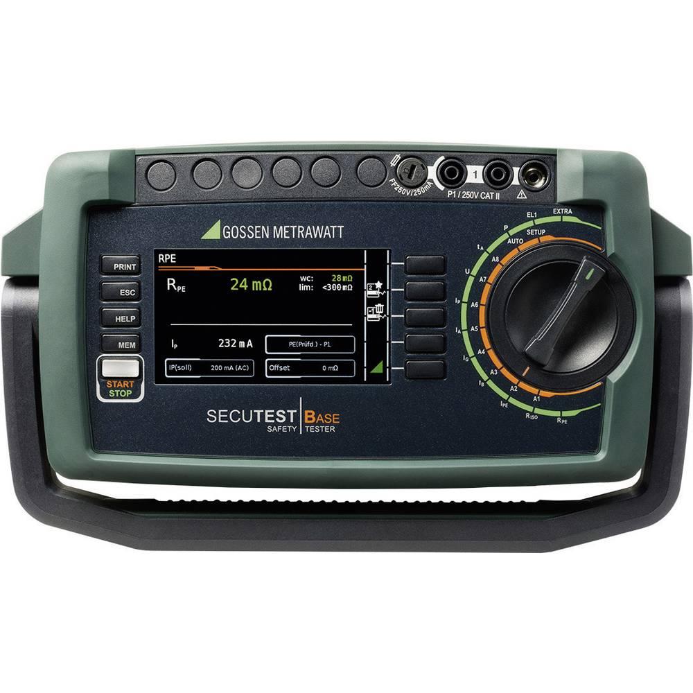 Gossen Metrawatt SECUTEST BASE VDE 0701-0702 ispitivač uređaja za mjerenje električne sigurnosti uređaja
