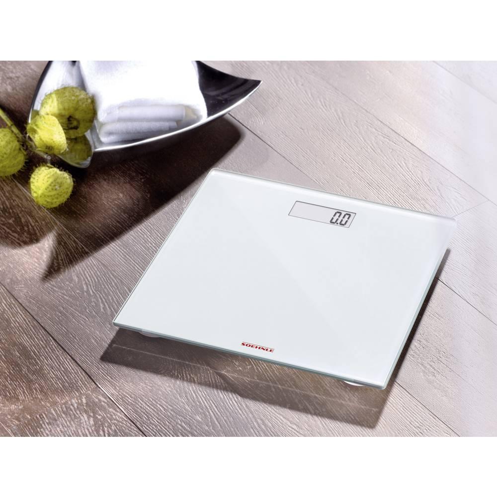 Digitalna osebna tehtnica Soehnle Pino območje tehtanja (maks.)=150 kg bela