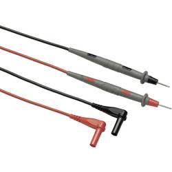 Varnostni-merilni kabelski komplet [ lamelni vtič 4 mm - testna konica] 1.50 m črne barve, rdeče barve Fluke TL71-1