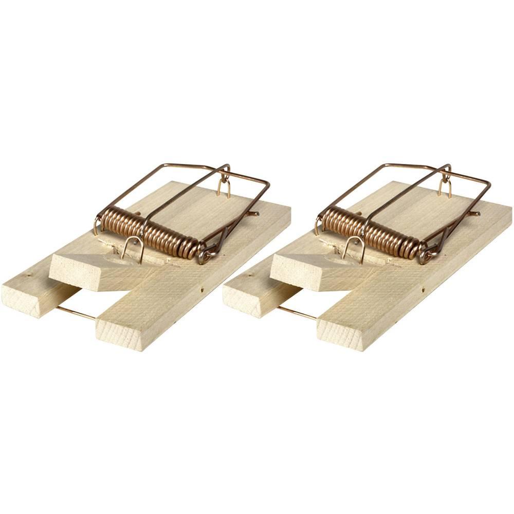Swissinno drvena mišolovka SuperCat Classic 2 kom. odbijanje životinja i štetočina Drvena mišolovka 2 kom. 1 718 306